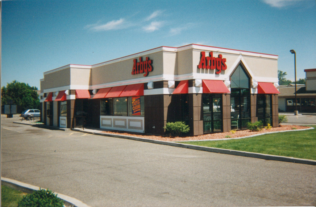 Arbys Restaurant built by Dakis Contracting